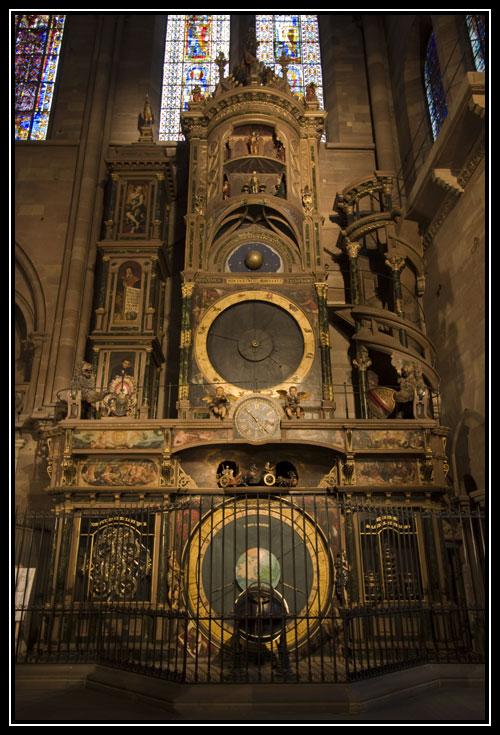 Horloge astronomique de la Cathédrale Notre Dame de Strasbourg