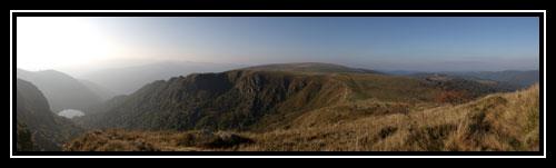 Panorama en haut du Honeck