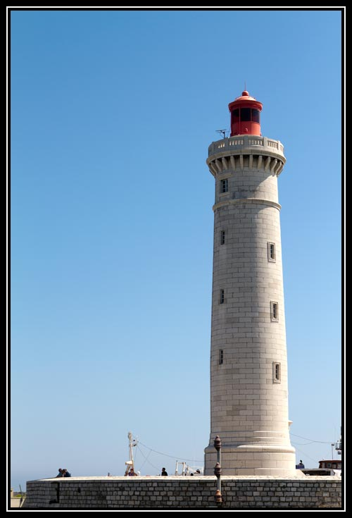 Le phare Saint-Louis