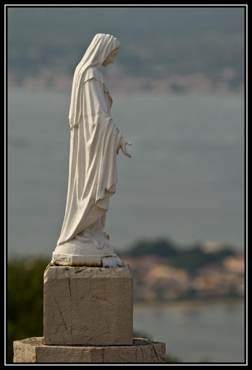 Vierge de la Chapelle Notre-Dame de la Salette à Sète