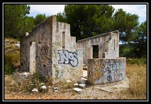 Ruine sur le mont Saint Clair
